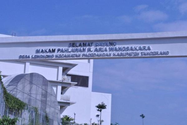 Safari Religi dan Berdoa di Makam Raden Aria Wangsakara Tangerang