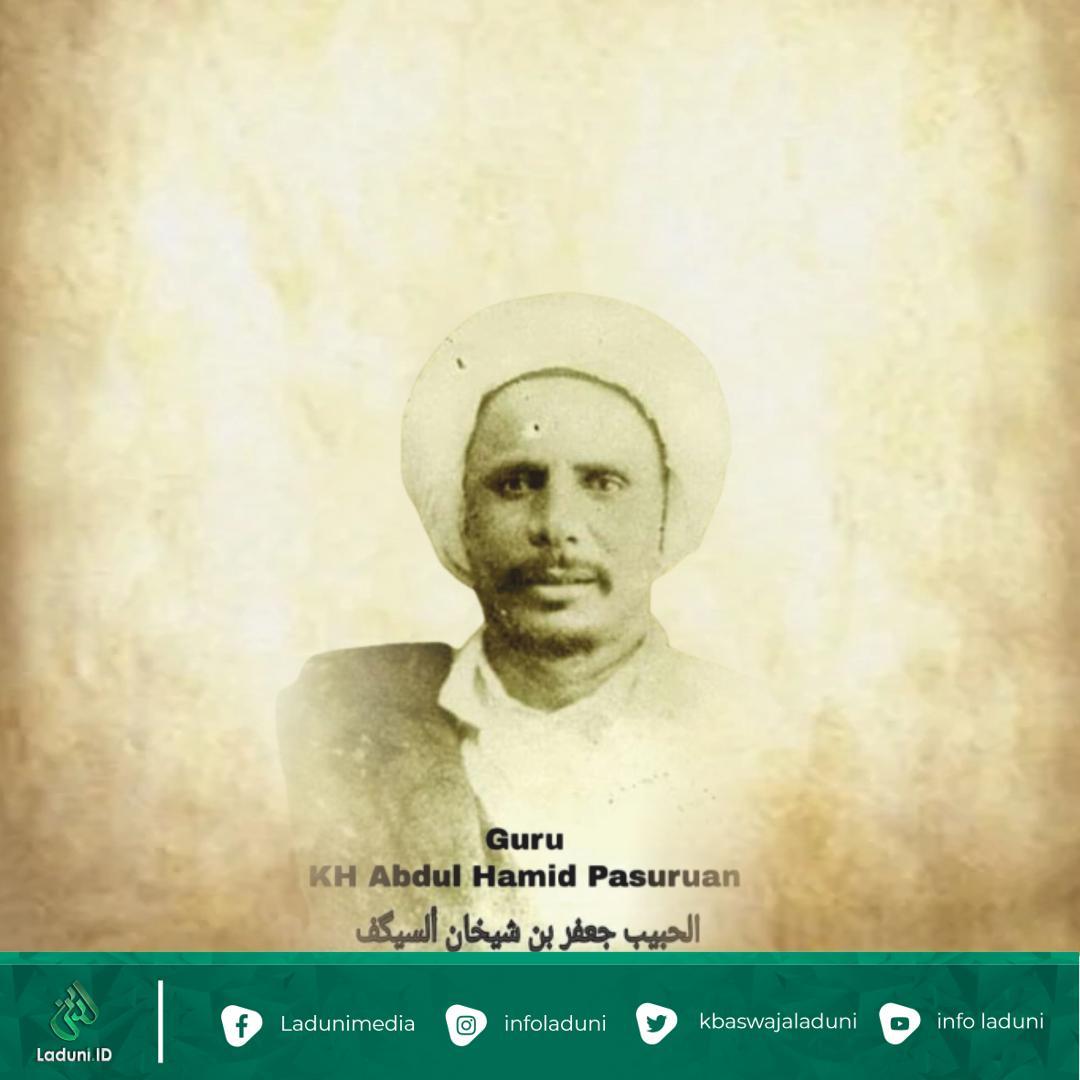 Mengenal Guru Mbah Hamid Pasuruan