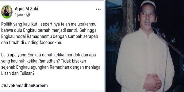 Simak Ajakan Dzuriyah Tebuireng untuk Menghormati Bulan Ramadhan
